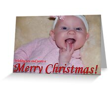 All I Want For Christmas Is My Two Front Teeth Greeting Card