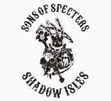 Sons Of Specters (Distressed) (White/Sticker) by Banobo