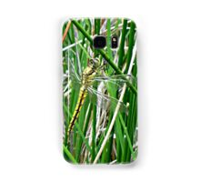 Black-Tailed Skimmer /Orthetrum Cancellatum (female) Samsung Galaxy Case/Skin