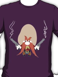 Yosemite sam back off geek funny nerd T-Shirt