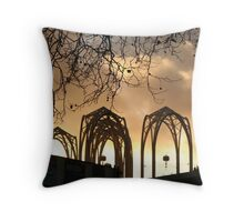 Arches Aglow Throw Pillow