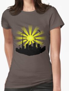 Windmill City 2 Womens Fitted T-Shirt