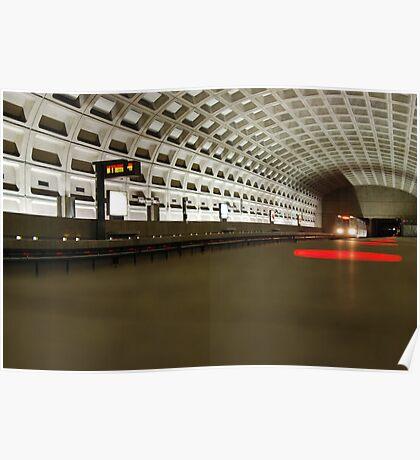 Virginia Square Metro I Poster
