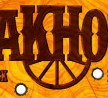 Steakhouse redneck rockin' band 1 Sticker