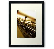 Virginia Square Metro III Framed Print