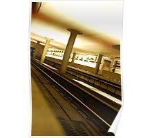 Virginia Square Metro III Poster