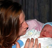 Baby Boy Whitehead by Colleen Friedman