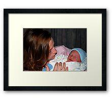 Baby Boy Whitehead Framed Print