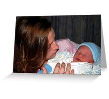 Baby Boy Whitehead Greeting Card