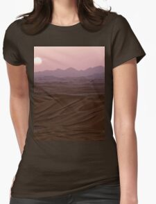 a historic Libya landscape Womens Fitted T-Shirt