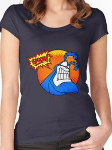 the tick- spoon Women's Fitted Scoop T-Shirt