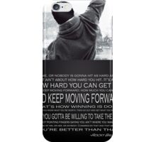 Rocky Balboa Poster iPhone Case/Skin
