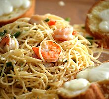 Shrimp Scampi by Damon Leazenby