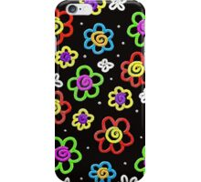 Crazy Flowers iPhone Case/Skin