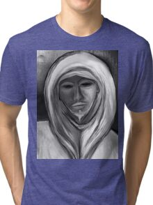 White Watcher Tri-blend T-Shirt