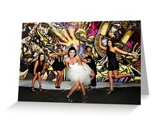 """""""On Fire"""" Greeting Card"""