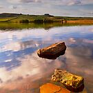 Kirkcarrion from Grassholme Reservoir by Phillip Dove