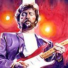Eric Clapton (stripe) by kenmeyerjr