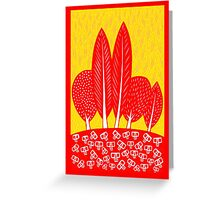 In the field of my dreams Greeting Card