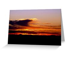 sunrise V ( while I was waiting for the sun to rise)...  Greeting Card