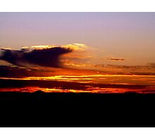 sunrise V ( while I was waiting for the sun to rise)...  Photographic Print