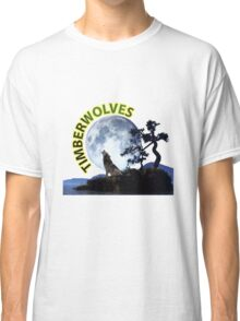 Timberwolves Collectors T-shirts and Stickers Classic T-Shirt