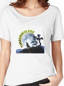 Timberwolves Collectors T-shirts and Stickers Women's Relaxed Fit T-Shirt
