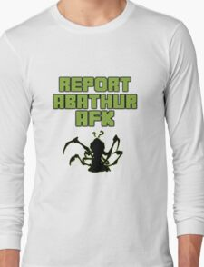 Heroes of the AFK Abathur Long Sleeve T-Shirt