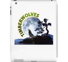 Timberwolves Collectors T-shirts and Stickers iPad Case/Skin