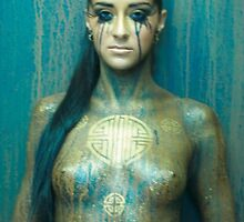 body painting by daniellehuard