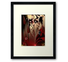Blood From My Eyes Framed Print
