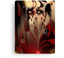 Blood From My Eyes Canvas Print