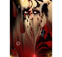 Blood From My Eyes Photographic Print