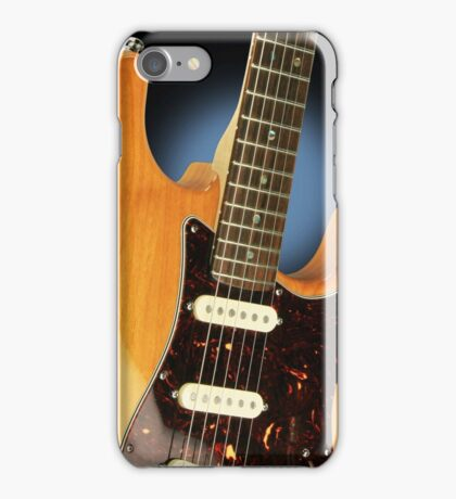 Fender Stratocaster Electric Guitar Natural iPhone Case/Skin