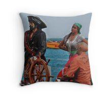 Join Up Mat'ies...Sail the Seven Seas... Throw Pillow