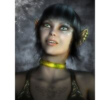 The Elf Fantasy Photographic Print