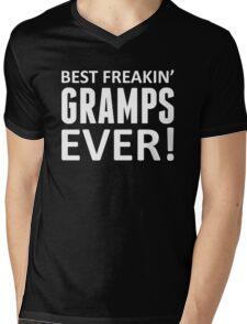 Best Freakin' Gramps Ever! Mens V-Neck T-Shirt