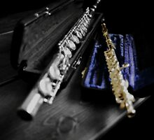 Flute and Piccolo, Select Color Piccolo by Tom Fant