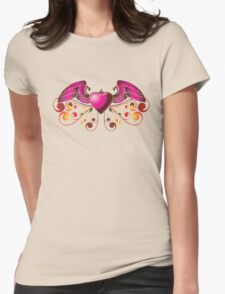 Pink heart with wings T-Shirt