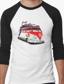 Ghostbusters Volkswagen Van Men's Baseball ¾ T-Shirt