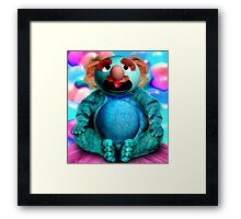 Grover the Waiter's Customer Finally gets his Soup and Burgers Framed Print
