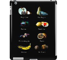 Fruit Catalog iPad Case/Skin