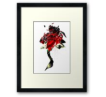 The Shubie Rose Framed Print