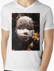 Doll Face Mens V-Neck T-Shirt