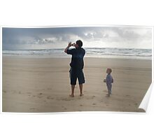 Double island point Son and hubby  Poster