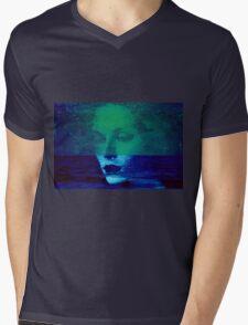Faces 17 Mens V-Neck T-Shirt