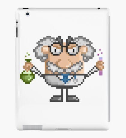 Pixel Art Mad Scientist iPad Case/Skin