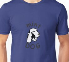 Mint Dog Cocker spaniel Unisex T-Shirt