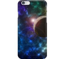 Galaxy and Planet design. iPhone Case/Skin