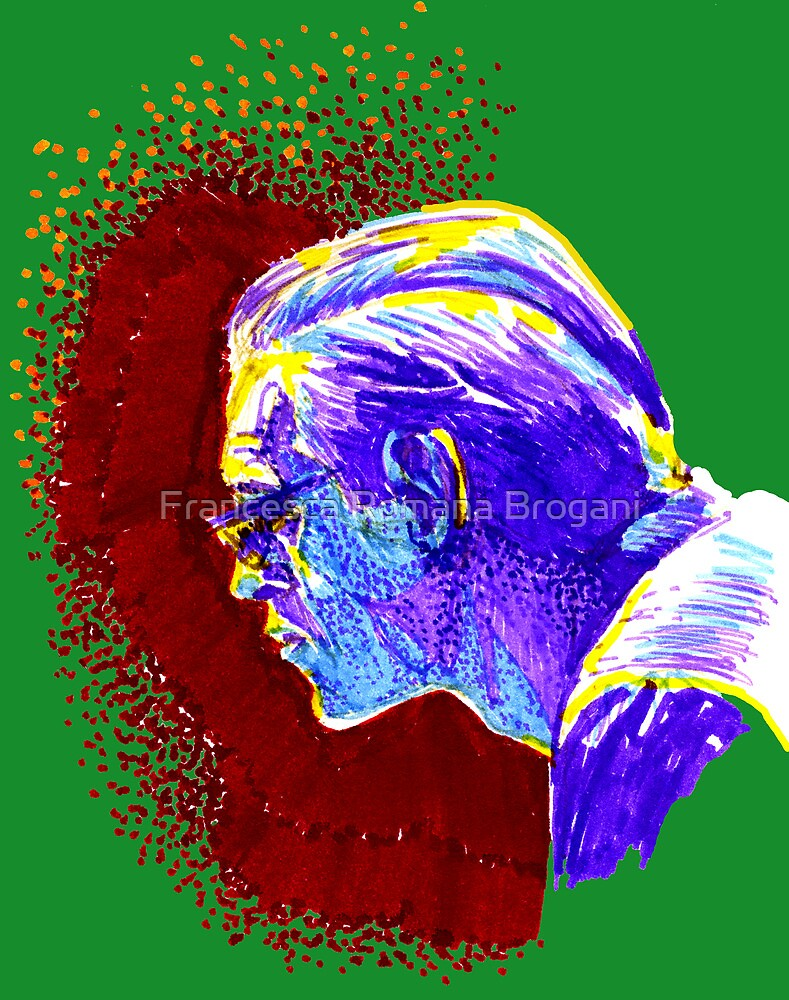 Jazz Portraits-Bill Evans by Francesca Romana Brogani